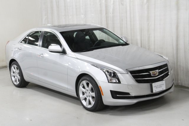 Certified Pre-Owned 2015 Cadillac ATS 2.0L Turbo