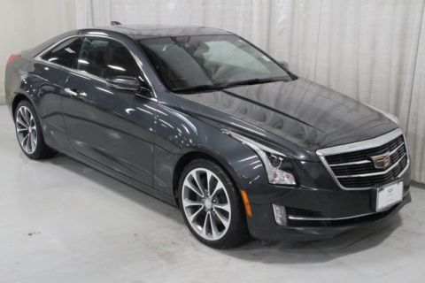 Certified Pre-Owned 2015 Cadillac ATS 2.0L Turbo Luxury