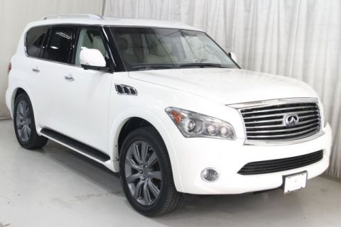 Pre-Owned 2012 INFINITI QX56 with Rear DVD & Navigation
